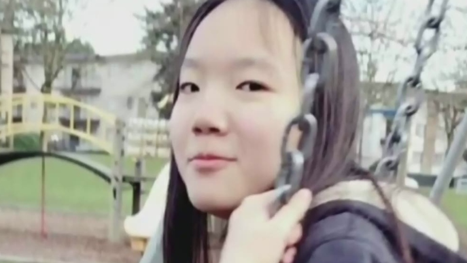 Marrisa Shen is seen in this undated photo. The teenager was found murdered in Burnaby's Central Park in July 2017.