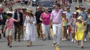 PM Trudeau marches in Halifax Pride Parade
