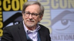 Steven Spielberg attends the Warner Bros. 'Ready Player One' panel on day three of Comic-Con International on Saturday, July 22, 2017, in San Diego. (Photo by Richard Shotwell / Invision / AP)