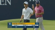 20-year-old Austin Connelly, who has ties to Nova Scotia, has moved into a tie for 3rd place at the British Open.