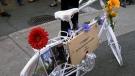 Ghost bikes: a haunting memorial fixture