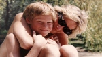 In this photo made available by Kensington Palace from the personal photo album of the late Diana, Princess of Wales, shows the princess and Prince Harry on holiday, and features in the new ITV documentary 'Diana, Our Mother: Her Life and Legacy.' (The Duke of Cambridge and Prince Harry / Kensington Palace via AP)