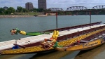 Boaters hit the river for dragon boat races