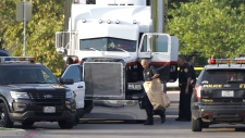 Eight people were found dead in a tractor-trailer