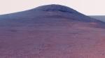 "NASA's Opportunity rover on the edge of ""Perseverance Valley"" on Mars. (NASA/JPL-Caltech/Cornell/Arizona State University)"