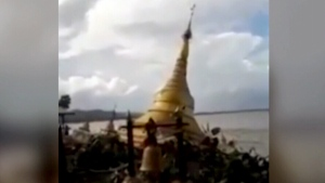 myanmar, pagoda