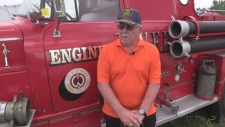 Firefighter sees truck used in Detroit riots