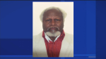 Lionel Legrand is a 5'7 black male who weighs 180 lbs. He has brown eyes, white hair, and speaks Creole. He was last seen Saturday evening in St. Michel (CTV Montreal)