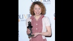 This is a March 13, 2011 file photo of Olivier Award-winning actress Michelle Terry in London. (an West / PA via AP)