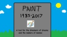 Microsoft will no longer update its Paint program. (Josh K. Elliott / Paint)