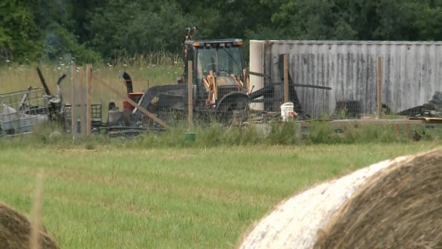 And a massive barn fire south of Ottawa this weekend killed about 80 chickens in Kemptville.