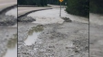 CTV  North: Heavy Rain fall is causing washed out