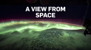 Time-lapse: Northern lights from space