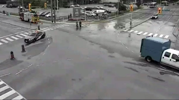 intersection closed, york mills and bayview