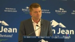 Brian Jean officially launches his campaign for leadership of the United Conservative Party at an event in Airdrie on Monday, July 24, 2017.