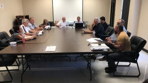 Essex council hold a special meeting to discuss timeline of the by-election to fill  vacant ward 3 seat on July 24, 2017. (Rich Garton / CTV Windsor)