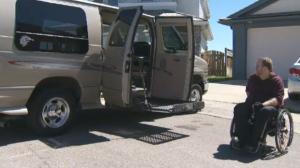 Fargo, Ford Econoline, accessible van, television