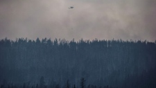 Fire near Ashcroft, B.C., on July 10, 2017