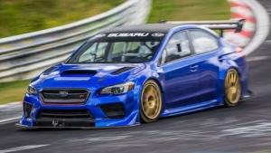Subaru teamed with Prodrive on the WRX STI Type RA NBR. (Courtesy of Subaru)
