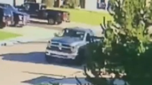 Langdon man helps catch truck thieves
