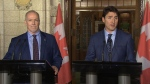 Trudeau, B.C. premier speak in Ottawa
