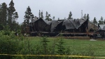 Police are investigating a fatal house fire in Clam Bay, N.S.