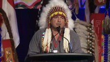 AFN Chief Perry Bellegarde delivers address