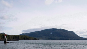 Lelu Island, near Prince Rupert, BC, is seen March 8, 2013. (Robin Rowland / THE CANADIAN PRESS)