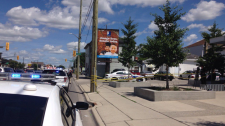 Stabbing at Horton and Wellington on July 25, 2017