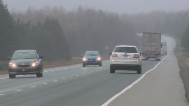 Nova Scotia's Highway 103 is seen in this file photo.