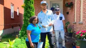 The Lewis family says their relative has been 'dehumanized' by the police and media in the wake of a shooting at her birthday party in Scarborough on July 23, 2017.