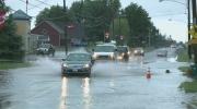 Record rainfall brings flooding