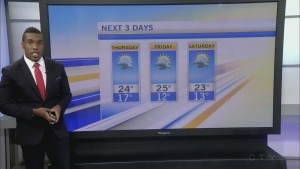 CTV Morning Live Weathers July 26