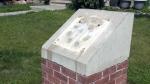 Memorial plaques stolen in Griesbach
