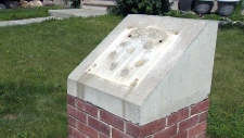 Memorial plaques stolen in Griesbach