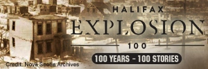 Halifax Explosion button