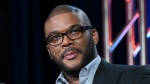 In this Jan. 15, 2016 file photo, Tyler Perry participates in a panel for 'The Passion' at the Fox Winter TCA in Pasadena, Calif. (Photo by Richard Shotwell/Invision/AP, File)