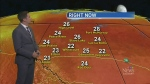 High pressure to blame for heat