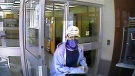Perth County OPP say they want to identify this man in connection with a bank robbery at the CIBC in Milverton. (Perth County OPP)