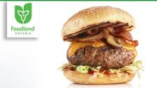 Beef Mushroom Burgers