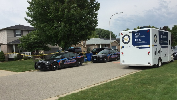 SIU investigates death of a man in Chatham-Kent, Ont., on Wednesday, July 26, 2017. (Alana Hadadean / CTV Windsor)