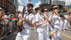 The Canadian Forces posted this image to Twitter on Wednesday, July 26, 2017 in a show of support for transgender members of the military. The post comes after U.S. President Donald Trump announced a sweeping ban on transgender members of the American military. (Source: Canadian Forces, Twitter)