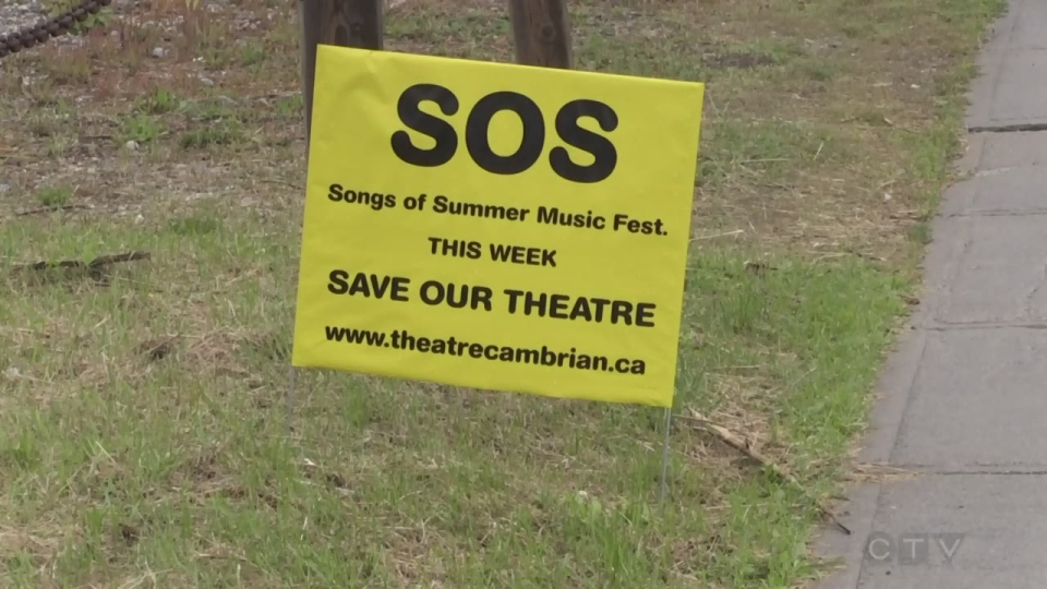 Theatre Cambrian hopes people will come through with donations at a free summer concert.