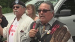 AS THE DECISION CAME DOWN FROM COUNTRY'S HIGHEST COURT IN SUPPORT OF ENBRIDGE'S CHANGES TO LINE 9... THE CHIPPEWAS OF THE THAMES FIRST NATION HAD A SWIFT AND STRONG REACTION. OUR RETA ISMAIL WITH MORE...