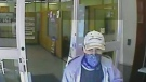 Photos of bank robbery suspect released