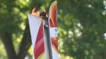 Canada Games' torch paraded around Winnipeg