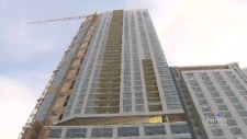 Surrey's tallest building nearing completion