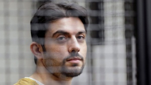 In this Feb. 2, 2016 file photo, jail escapee Hossein Nayeri appears in court in Santa Ana, Calif. (AP Photo/Nick Ut, File)