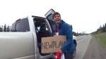 Two students hitchhike across Canada on $150 each