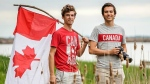 Ori Nevares and Phil Roberge (Expedition Canada 150/Facebook)